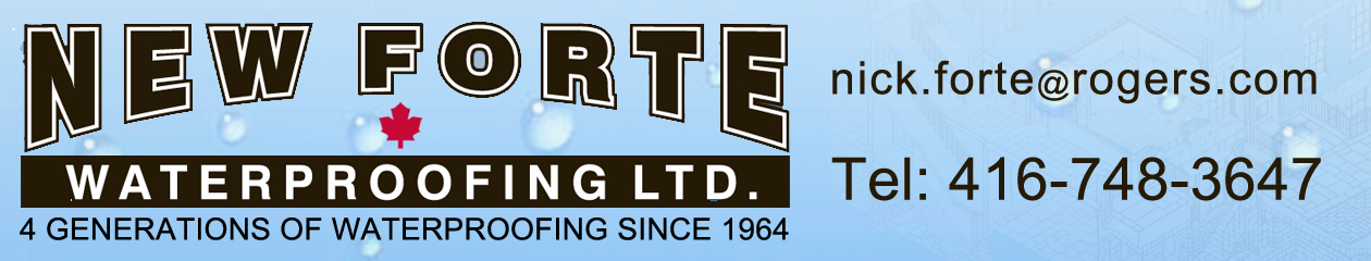 NEW FORTE WATERPROOFING